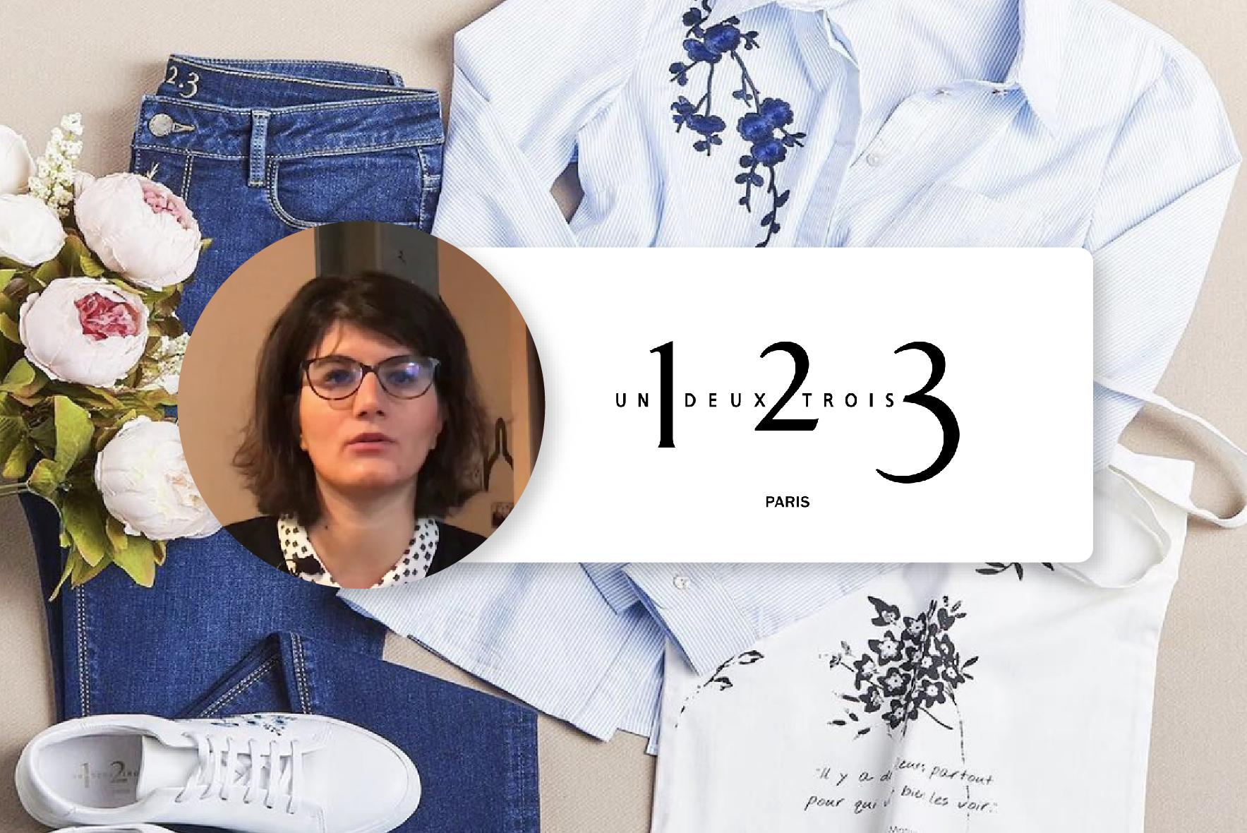 Laetitia Angot, Responsable relations et expériences client chez 1.2.3 Paris